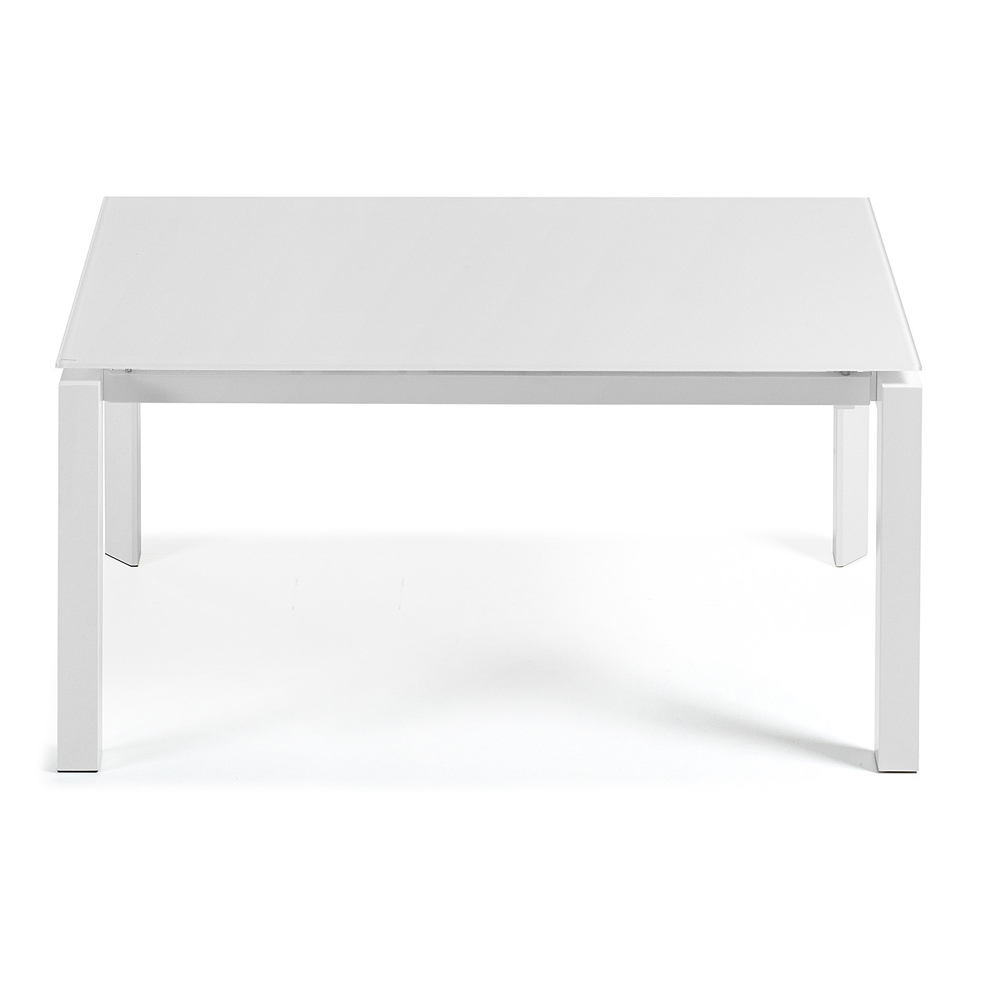 SANTINO WHITE EXTENDABLE DINING TABLE LARGE-33844