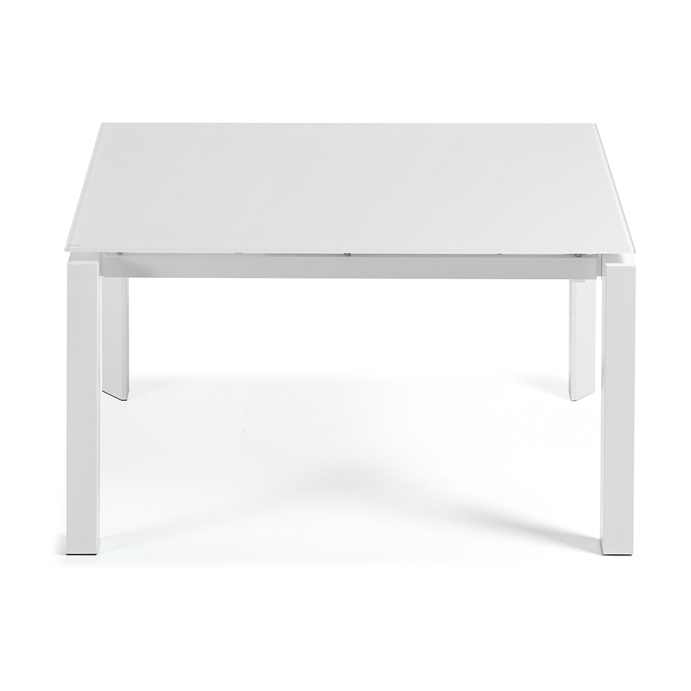 SANTINO WHITE EXTENDABLE DINING TABLE SMALL -33837