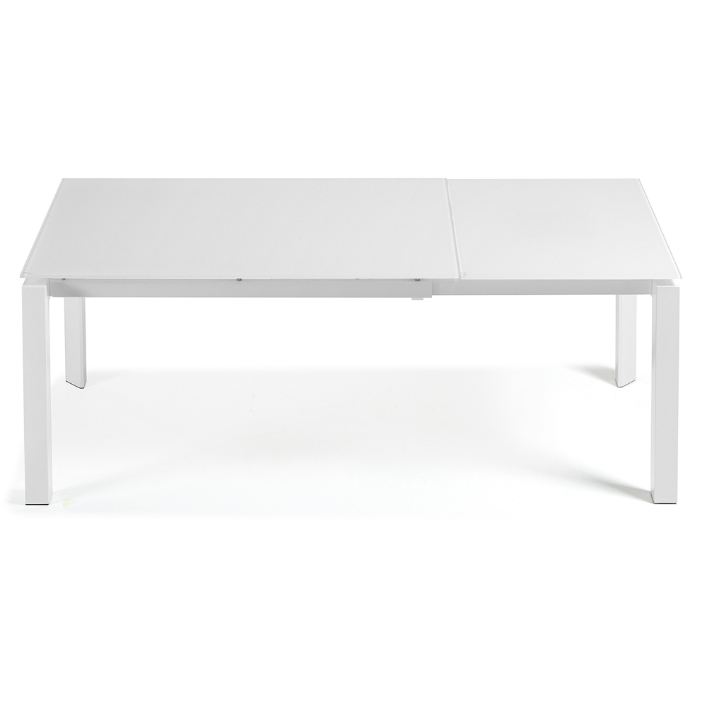 SANTINO WHITE EXTENDABLE DINING TABLE SMALL -33838