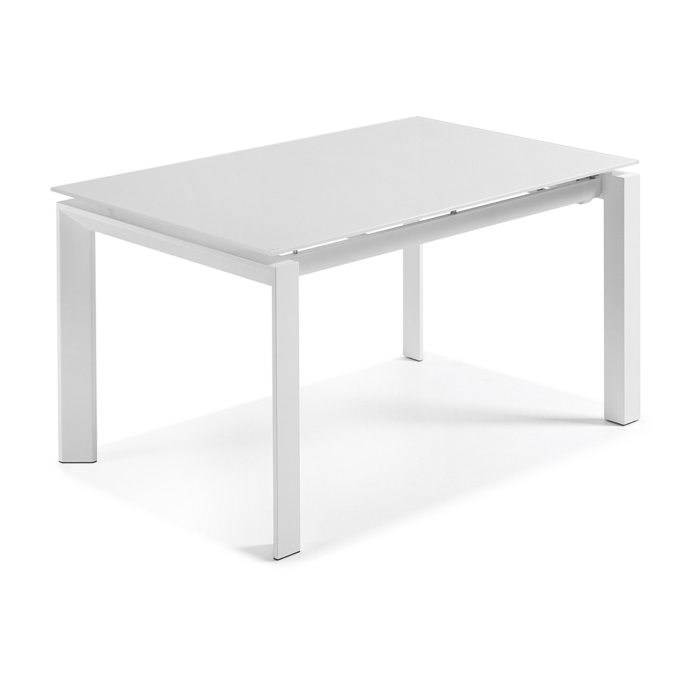 SANTINO WHITE EXTENDABLE DINING TABLE SMALL -33836
