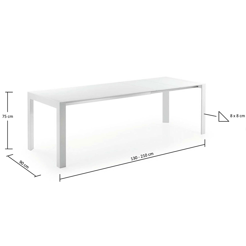 MONETTI EXTENDABLE DINING TABLE SMALL-33861