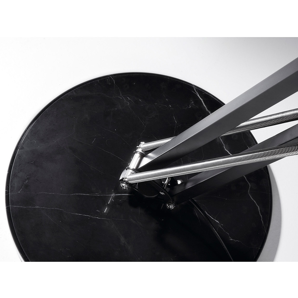 ASENTA FLOOR LAMP WITH BLACK SHADE-35980