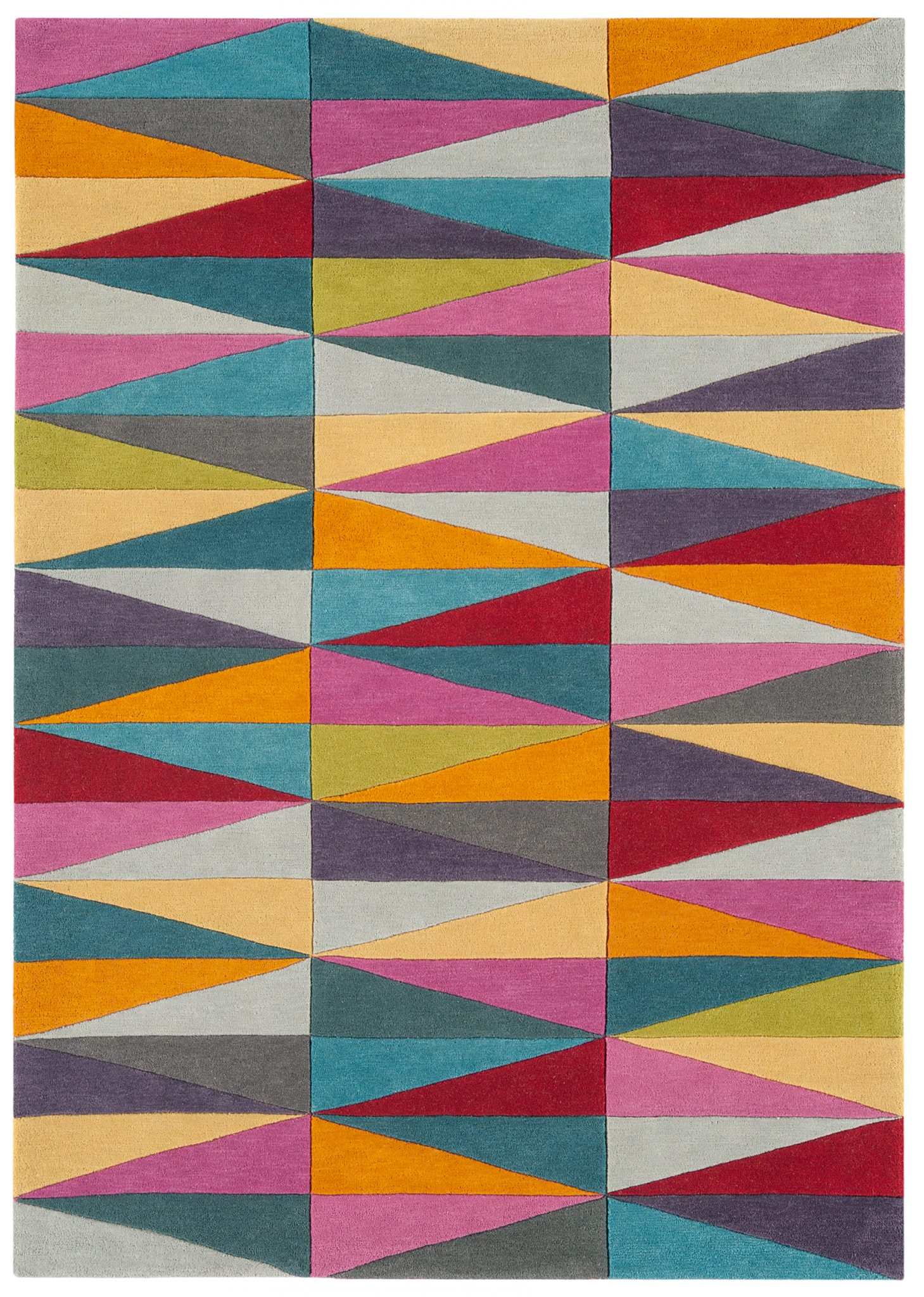 HARLEQUIN TRIANGLES RUG-0
