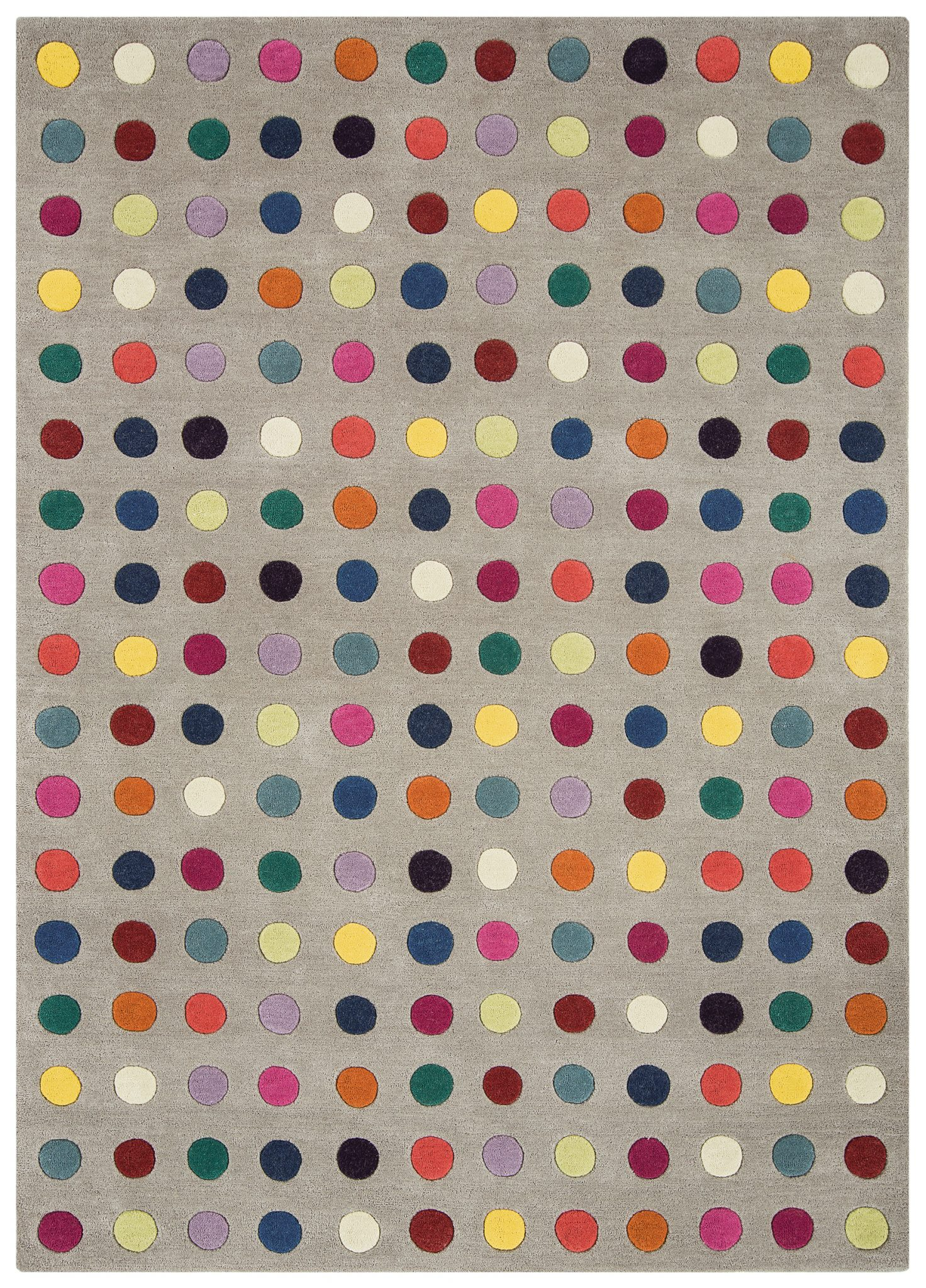 HARLEQUIN SPOTTY RUG-0