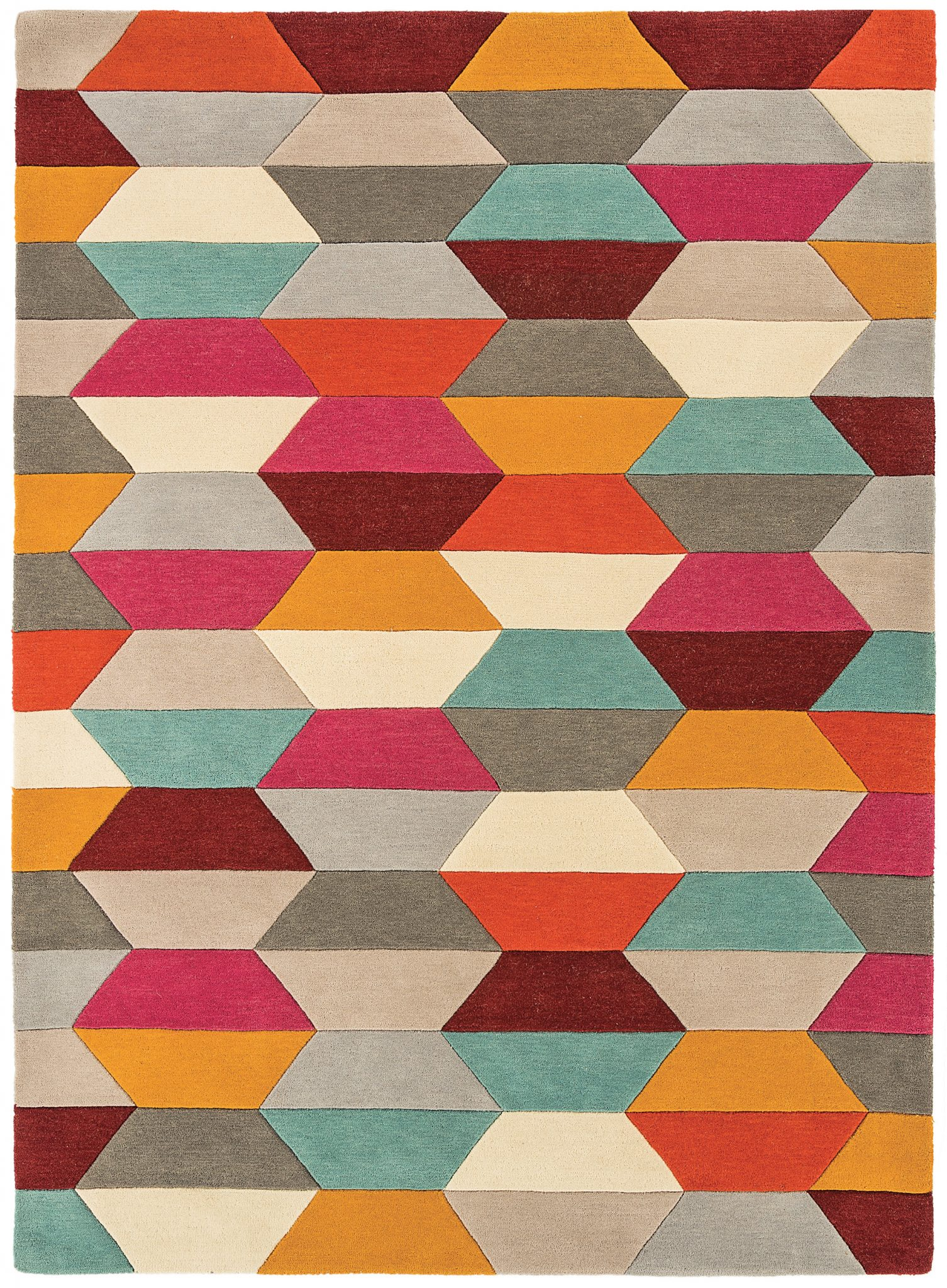 HARLEQUIN HONEYCOMB BRIGHT RUG-0