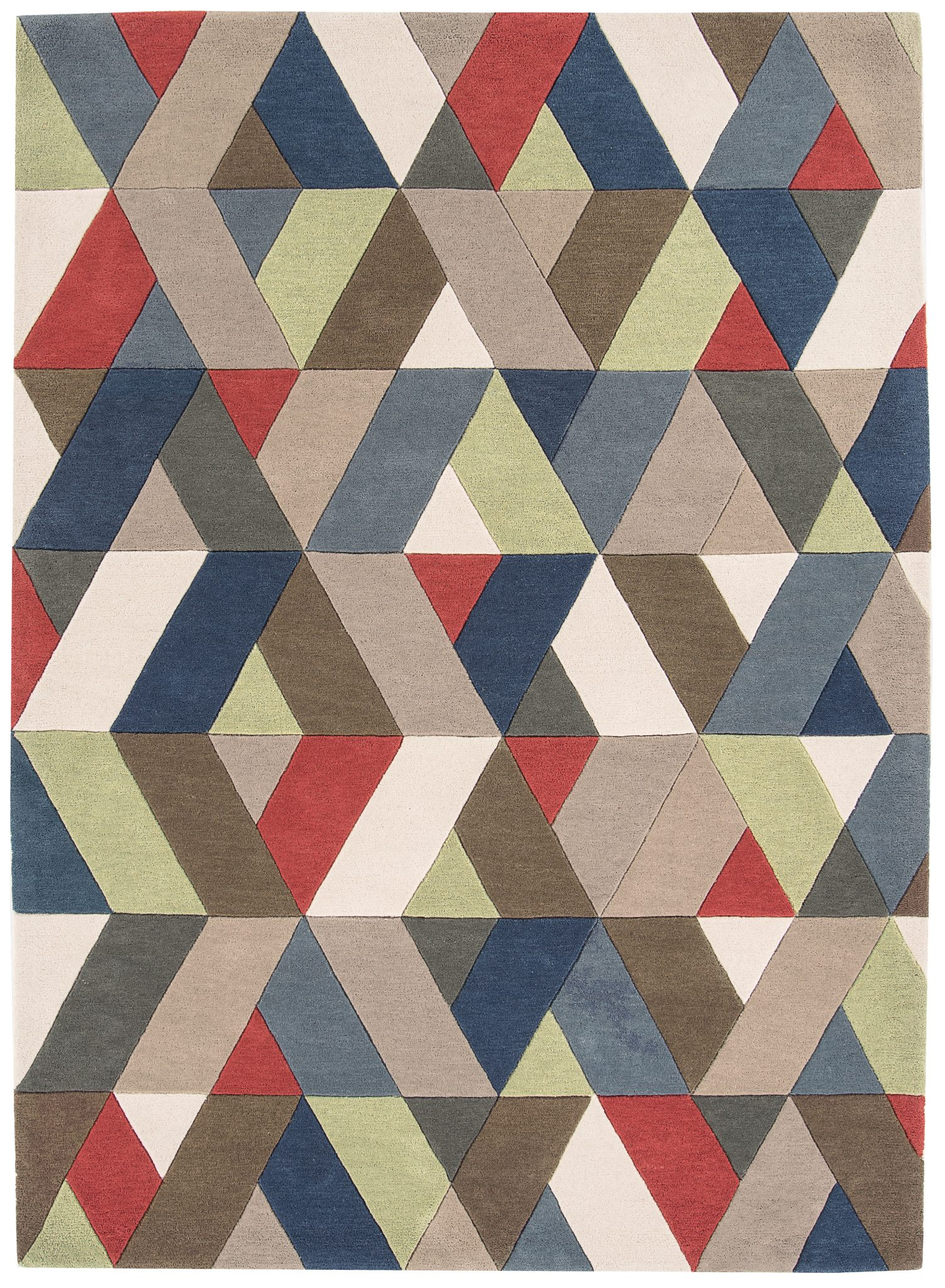 HARLEQUIN CHEVRON MULTI RUG-0