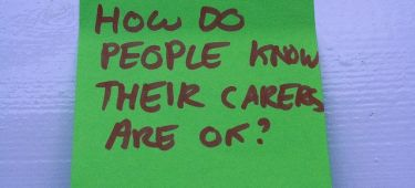 how do people know carer is ok