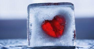 care heart ice cube