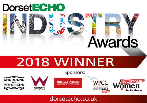 Age Space is a Dorset Echo Industry Awards 2018 Winner