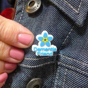 dementia friend badge 2