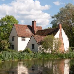 Flatford in Suffolk