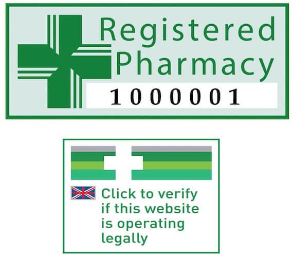 Registered Pharmacies logos