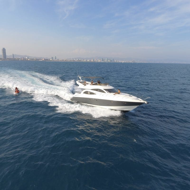 Luxury Yacht Charter – Hire from Port Olympic Barcelona