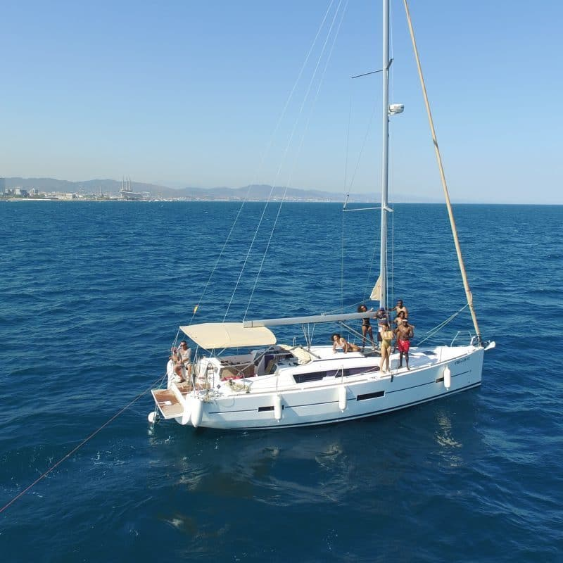 Barcelona sailing tours from Port Olimpic