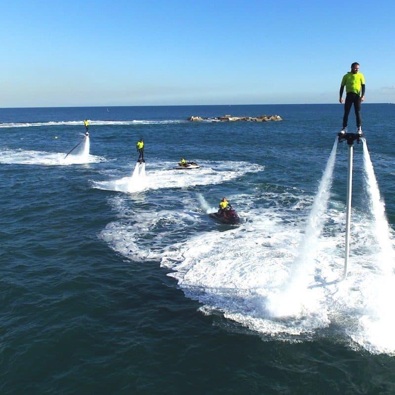 Fun on a flyboard – Barcelona watersports