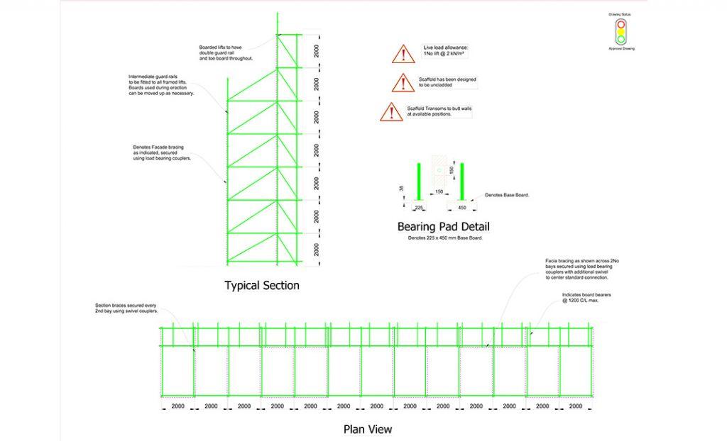 1-Vinvi-JLR-MH1-Freestanding-scaffold