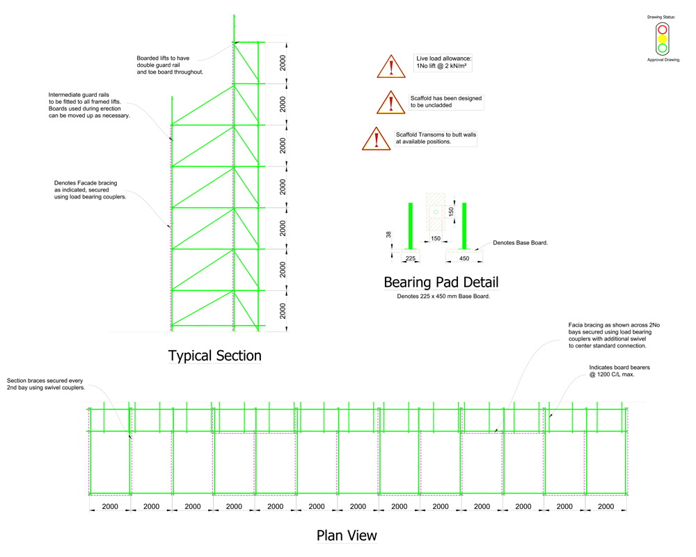 Vinvi-JLR-MH1-Freestanding-scaffold