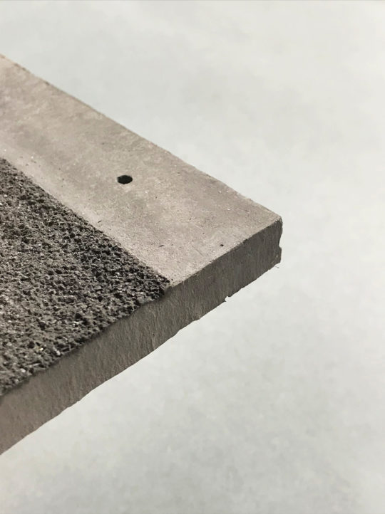 Grit-Faced Concrete Tile
