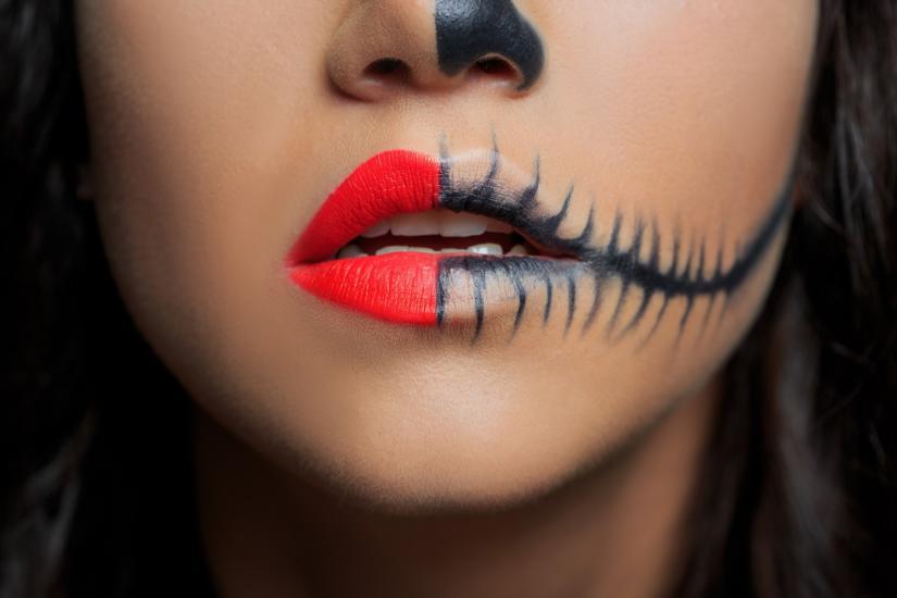 Halloween inspiracje makijaż