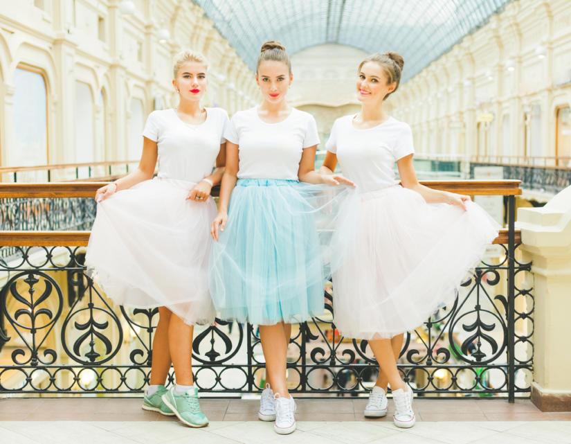 Spódnica tiulowa w wydaniu nowoczesnej balleriny