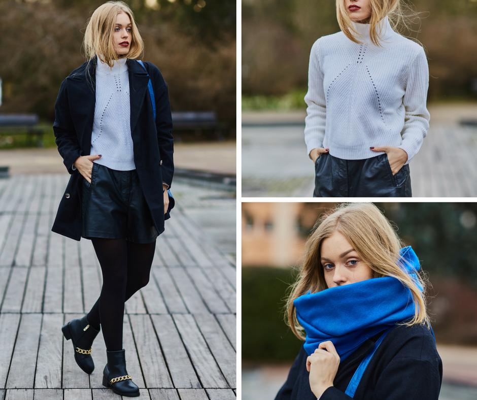 Niebieski - kolor zimy