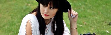 modny kapelusz w stylizacji od blogerki Moda i takie tam