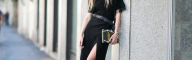 jak nosić czerń latem