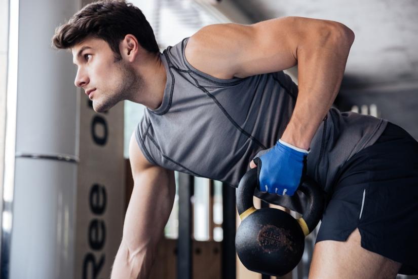 Ubrania na siłownię dla mężczyzn