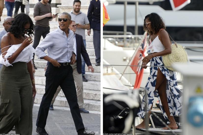 Michelle Obama stawia teraz na wyluzowane stroje, bo już nie musi martwić się etykietą