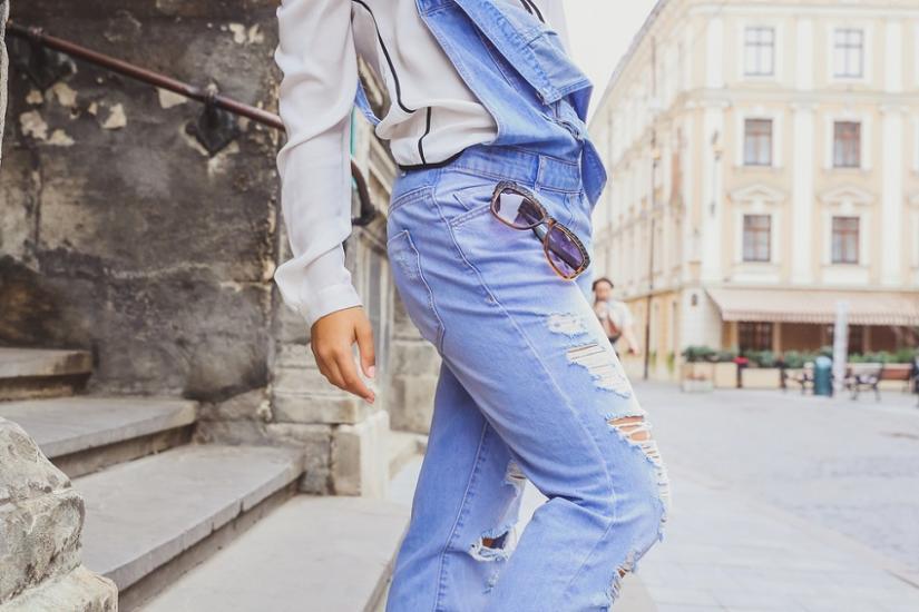 spodnie dzwony dla kogo