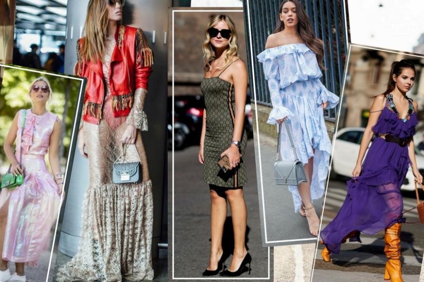 Sukienki od projektantów - stylizacje z tygodni mody