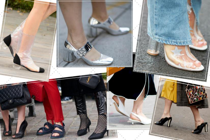 Modne buty na lato - propozycje z tygodni mody