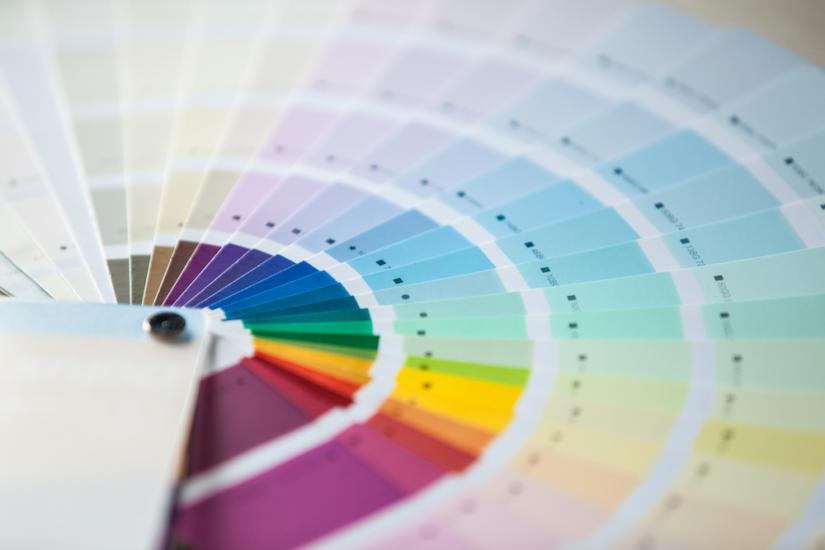 Koło barw ułatwia wybór kolorystyki stylizacji