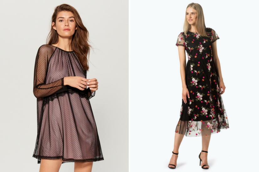 Tiulowe sukienki: Mohito, Van Graaf