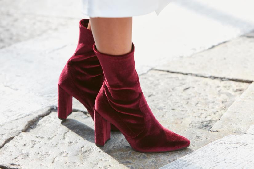 Buty w intensywnym kolorze - HOT dodatek na zimę