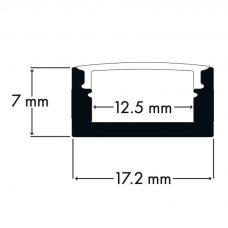 100% Light Uk Shallow Surface Led Profile Line Drawing