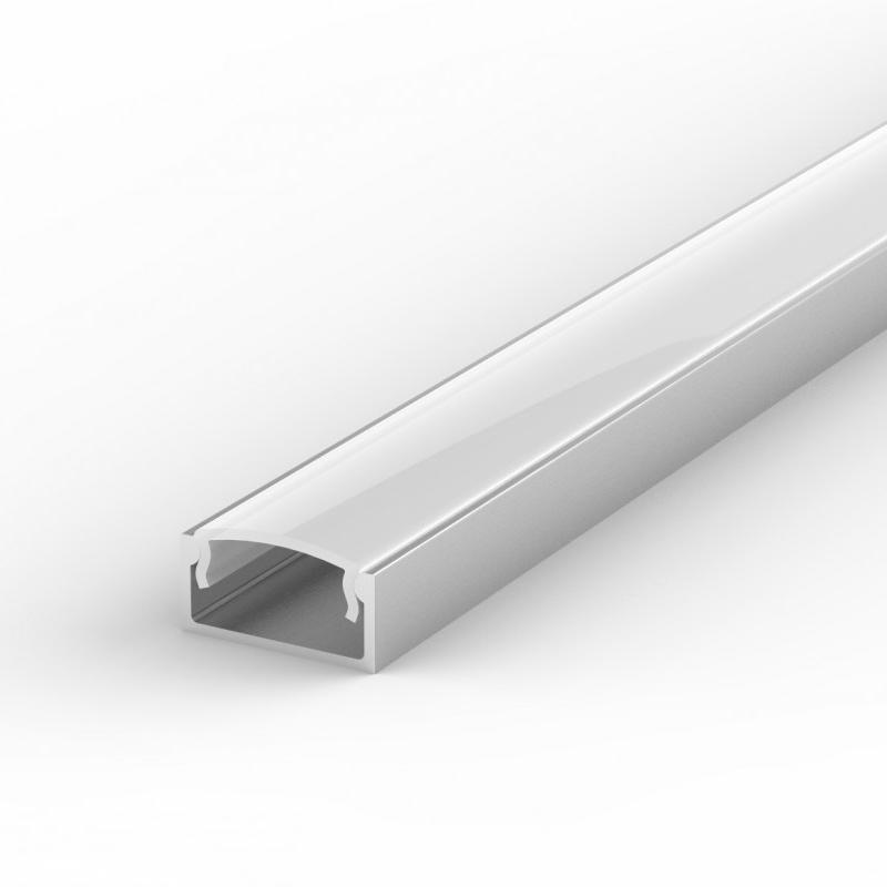 100% Light Uk Shallow Surface Led Profile Aluminium