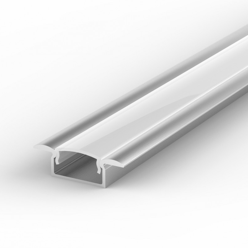 100% Light Uk Shallow Recessed Led Profile Aluminium