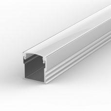 100% Light Uk Deep Surface Led Profile Aluminium