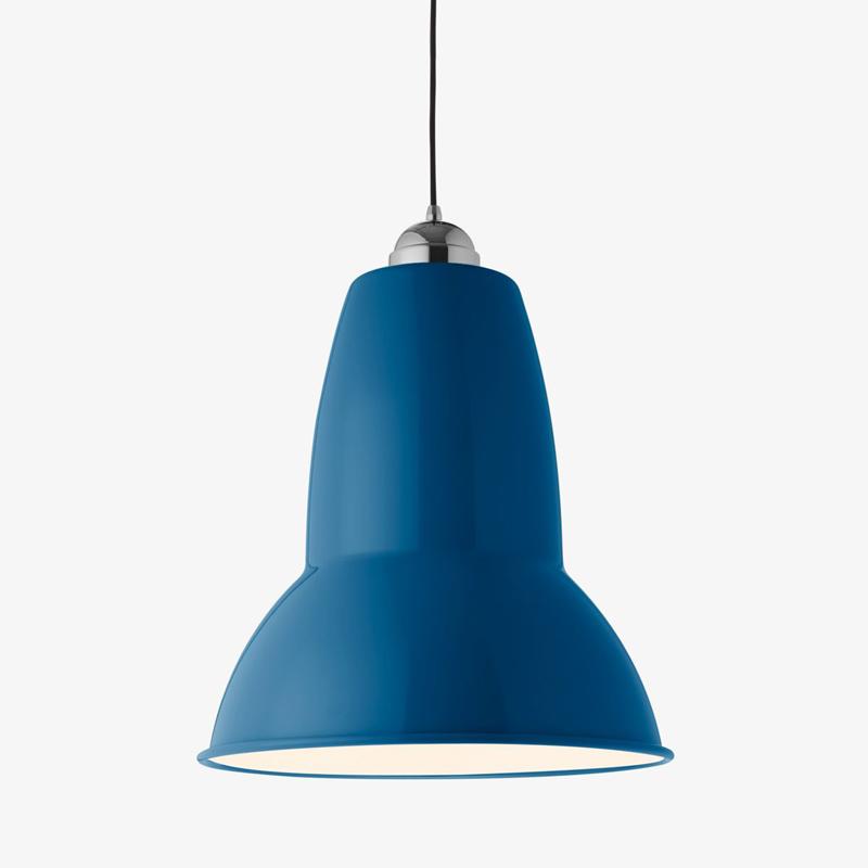 Anglepoise 1227 Giant Pendant Light Marine Blue
