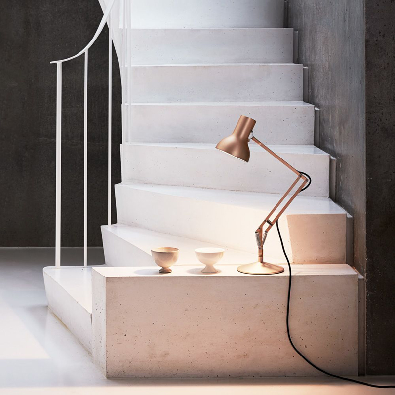 Anglepoise Type 75 Mini Metallic Table Copper Lustre F