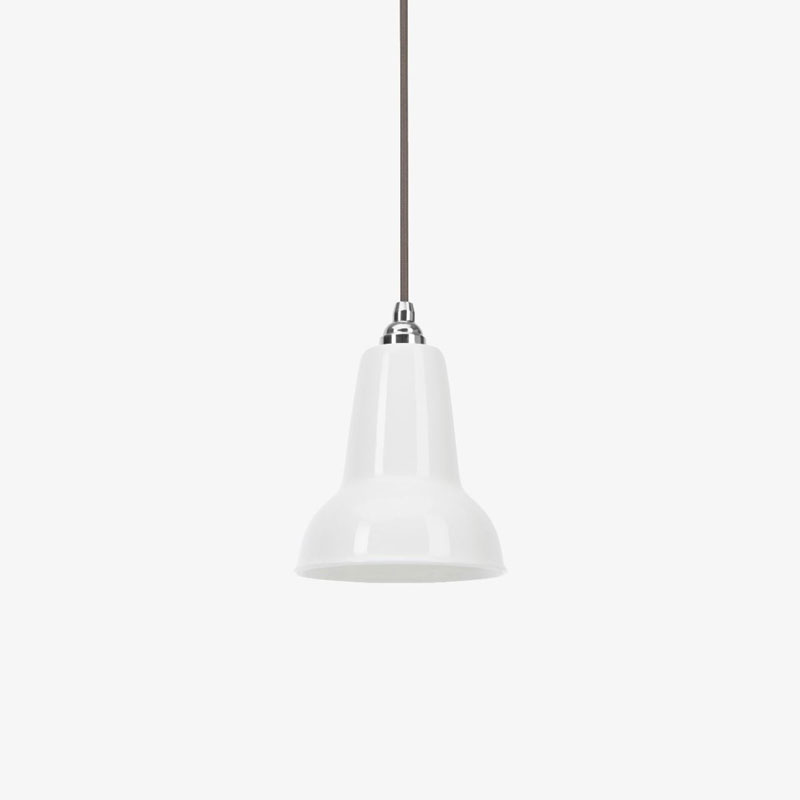 Anglepoise Original 1227 Mini Ceramic Pendant Light Ceramic Off