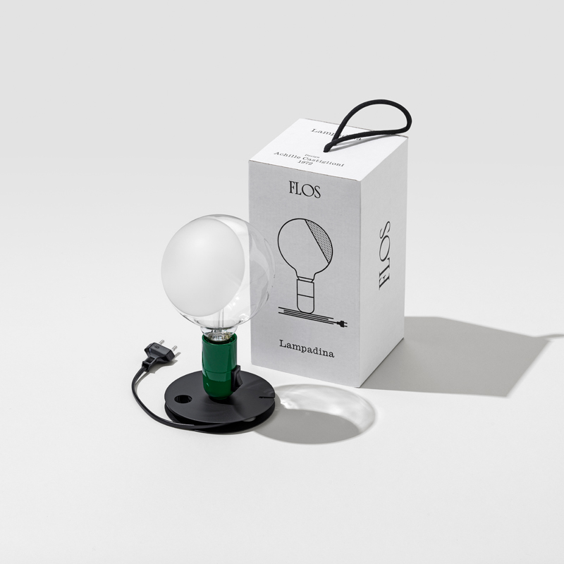Flos Lampadina Table Lamp Green C