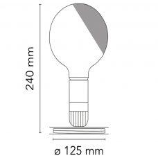 Flos Lampadina Table Lamp Line Drawing