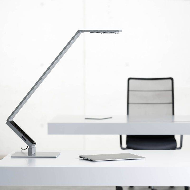 Luctra Linear Pro Base Table Lamp Aluminium E