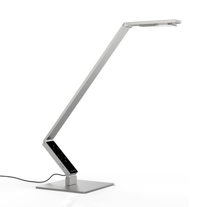 Luctra Linear Pro Base Table Lamp Aluminium