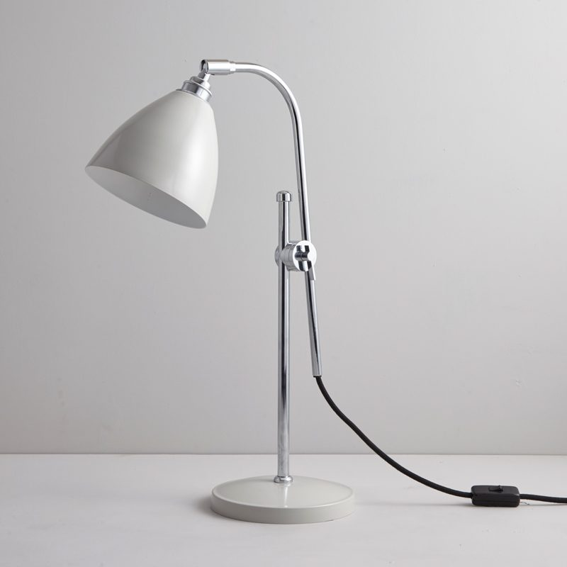 Original Btc Task Table Lamp Putty Grey B