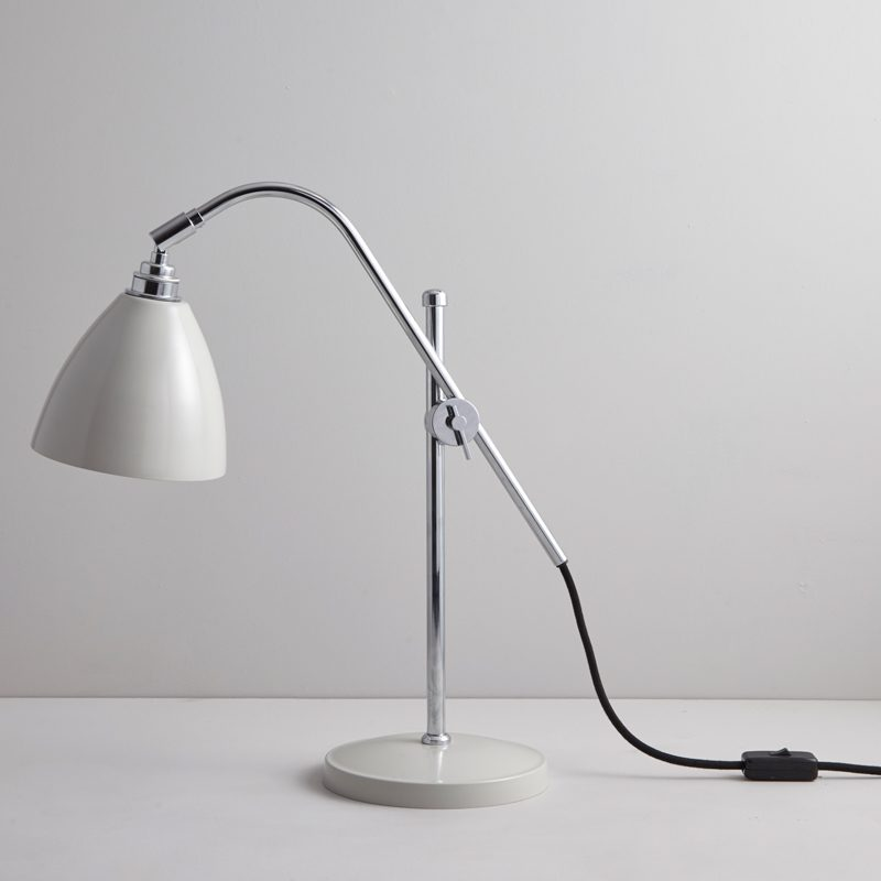 Original Btc Task Table Lamp Putty Grey D