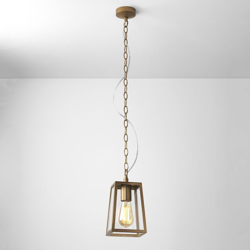Astro Calvi 215 Pendant Light Antique Brass B