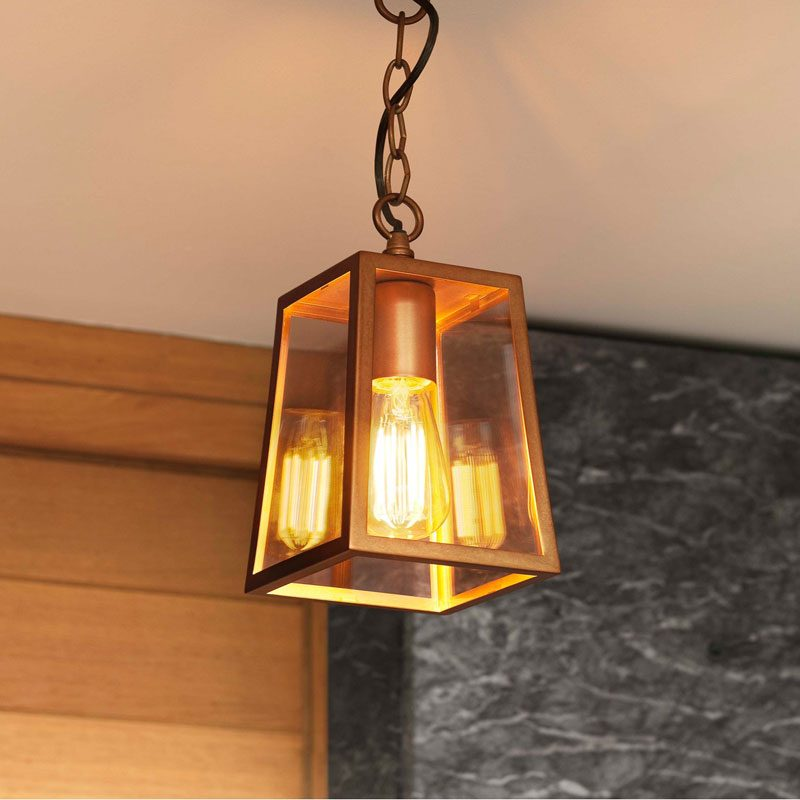 Astro Calvi 215 Pendant Light Antique Brass C